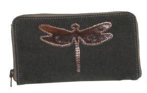 BYROOM - bronze dragonfly - Portemonnaie