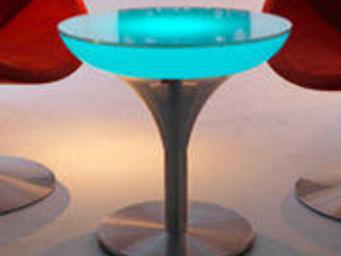Moree - lounge m 55 indoor led - Leuchtender Couchtisch