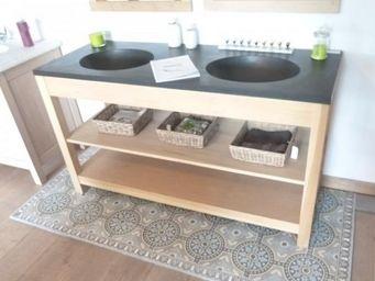 Antiek-Bouw -  - Doppelwaschtisch Möbel