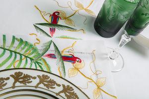 Renaissance Paris - jungle - Tischdecke Und Passende Servietten