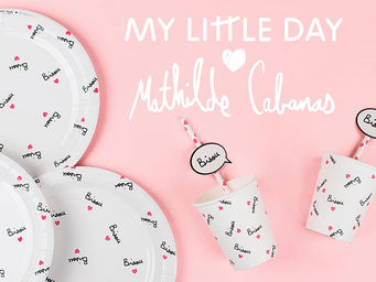 MY LITTLE DAY - mathilde cabanas - Einweggeschirr