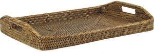 Aubry-Gaspard - plateau rotin - Tablett