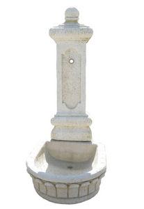 DECO GRANIT - fontaine en pierre reconstituée 50x60x123cm - Wandbrunnen