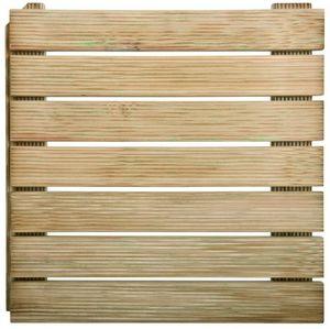JARDIPOLYS - dalle autobloquante en pin traité autoclave - Bodenplatten Außenbereich