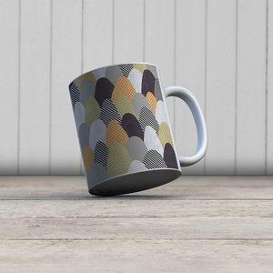 la Magie dans l'Image - mug collines - Mug