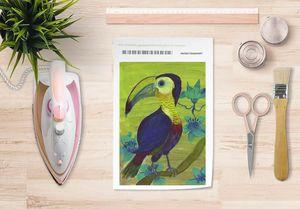 la Magie dans l'Image - papier transfert toucan - Verlegung