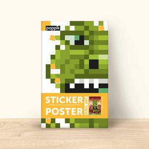 POPPIK - un monstre a tokyo - Gummiertes Papier