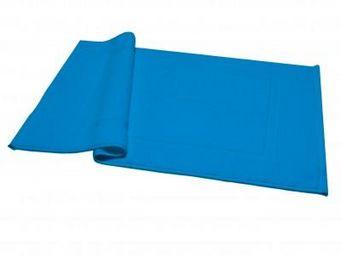 Liou - tapis de bain bleu cyclades - Badematte