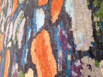 Bausol - knotty 5/5 grey - Maßgefertigter Wandteppich