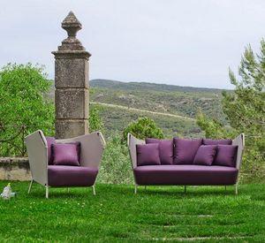 OI SIDE - violet - Gartensofa