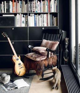 Maison De Vacances - velours woodstock - Rechteckige Kissen