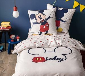 BLANC CERISE - mickey trend - Kinder Bettbezug