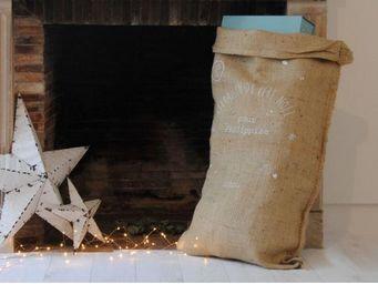 petit picotin - hotte de noël - Weihnachtssocke