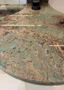 Marbrerie Des Yvelines - amazzonite - Arbeitsplatte