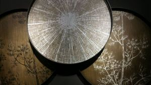 LA VILLA HORTUS - wood line - Couchtisch Mit Regal