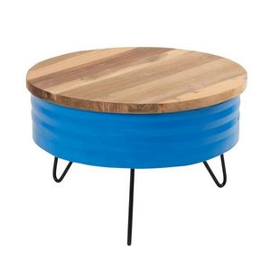 Mathi Design - table basse favelas - Runder Couchtisch