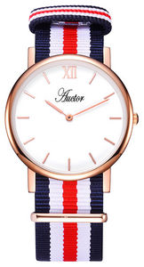 AUCTOR - la brillante red 36 - Uhr