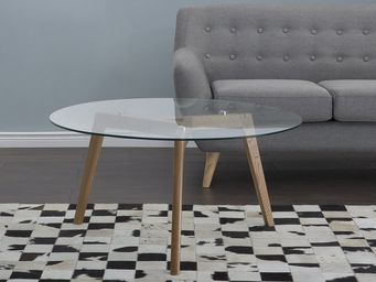 BELIANI - table d'appoint - Runder Couchtisch