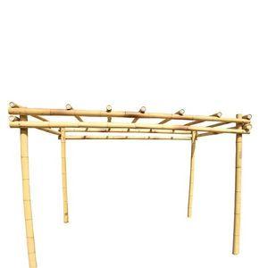 Bambou World -  - Freistehende Pergola