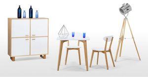 MADE -  - Quadratischer Esstisch