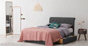 MADE -  - Bett Mit Bettkasten