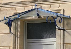 Brun et Doutte - pompadour - Eingangsvordach