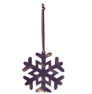SIA - lot de 6 flocons - Weihnachtsbaumschmuck
