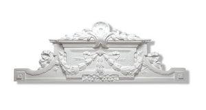 Staff Decor - baroque 3903 - Ziergiebel