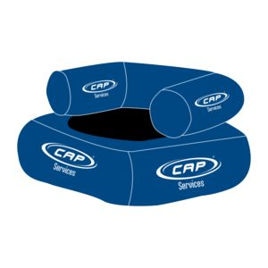 CAP MER MONTAGNE -  - Aufblasbarer Sessel