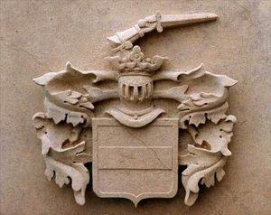 Bruton Stone Masons -  - Wappen