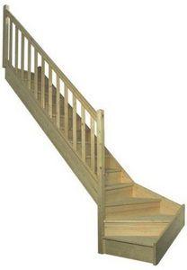 Fritz -  - Viertelgewendelte Treppe