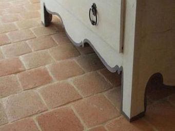 Ceramiques du Beaujolais - carrelages terre cuite antique - Sechseckige Fliesen