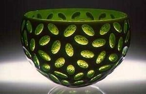 Blow Zone / Glass Studio - small virtu bowl - Deko Schale