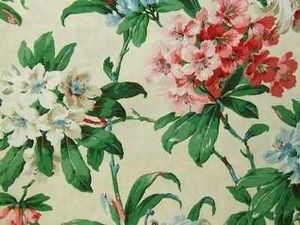 Warner Fabrics ( Tg Group) - hamilton flowers - Chintz
