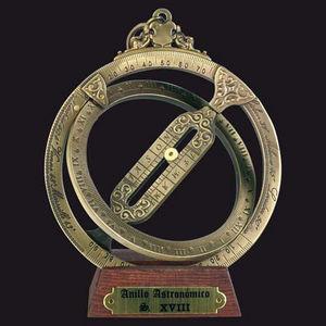 HEMISFERIUM - anneau astronomique - Außenuhr