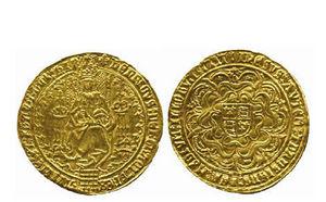 A H BALDWIN & SONS - henry viii (1509-1547), - Münze