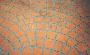 Dexel - béton pochoir - Prägebeton