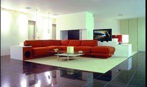John Russell Architectural -  - Innenarchitektenprojekt Wohnzimmer