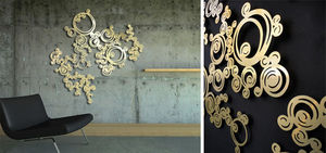 SOPHIE BRIAND - bijou de mur volute - Wanddekoration