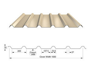 Corus Panels & Profiles - rl32 - Mischziegel