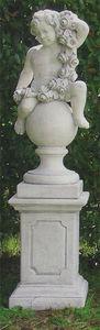 Mattstone Ornaments - primavera su sfera - Statue
