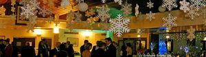 Graham Sweet - polystyrene snowflakes - Weihnachtsschmuck