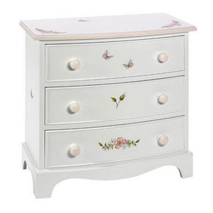 Dragons Of Walton Street - bowfronted chest of drawers - small - Kinder Kommode