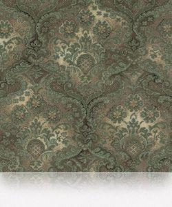 Grosvenor Wilton - woodward traditional / chartreuse green brocade - Teppichboden