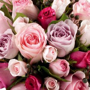 Au nom de la Rose - bouquet rond - Blumengebinde