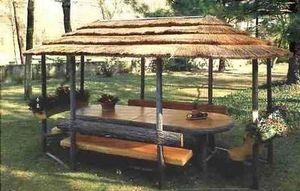 Lino Lenzi -  - Picknick Tisch