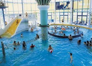 Bola de olas para piscina