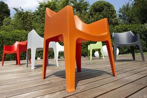 SCAB DESIGN - coccolona - Stapelbare Sessel