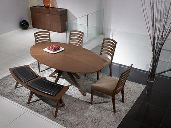 Miliboo - conan table ovale - Ovaler Esstisch