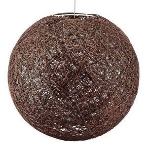 Maisons du monde - suspension végétale brune - Deckenlampe Hängelampe